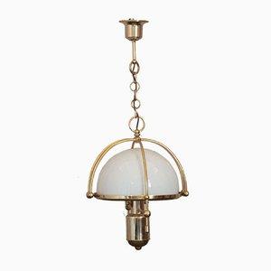 Goldene Deckenlampe, 1970er