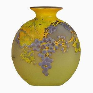Vase von Emile Gallé, 1920er