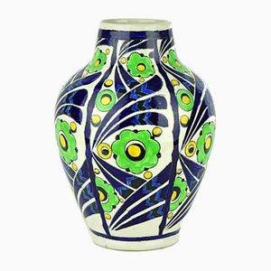 Vase von Charles Catteau für Boch Frères, 1928