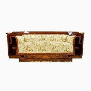 Vintage Art Deco Italian Sofa, 1930s