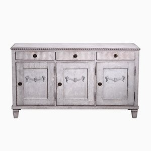 Antique Gustavian 3-Door Sideboard