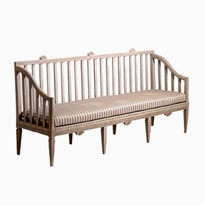 Antique Gustavian Bench, 1790s