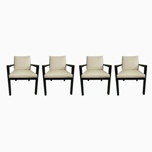 Eco-Leather Dining Chairs from Camerich, 2000s, Set of 4