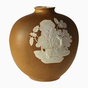 Vase von Garinboldi Giovanni für Richard Ginori, 1952