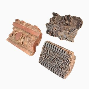 Antique Wooden Molds, Set of 3