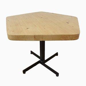 Tavolino pentagonale vintage di Charlotte Perriand, 1967