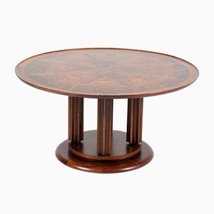 Table Basse en Palissandre de Gebroeders Reens, années 30