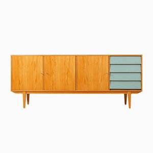 German Ash Veneer Sideboard, 1950s