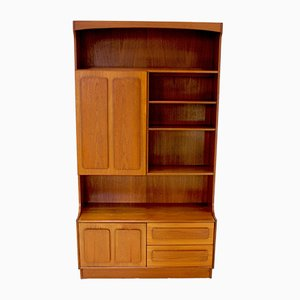 Danish Teak Wall Unit from Portwood, 1970s