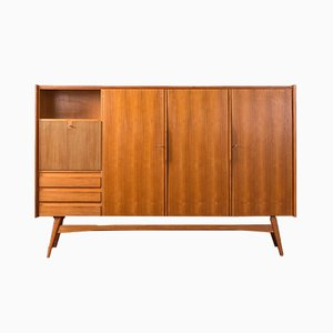 Danish Teak Veneer Sideboard from WK Möbel, 1950s