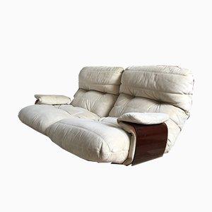 Vintage Marsala 2-Sitzer Sofa von Michel Ducaroy für Ligne Roset, 1990er