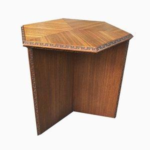 Tavolino di Frank Lloyd Wright per Heritage Herendon, anni '50