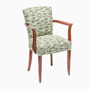 Vintage French Walnut Armchair