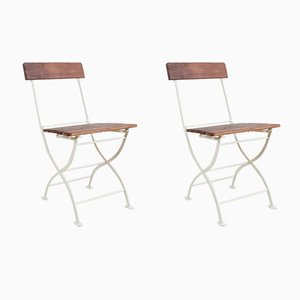 Vintage Garden Chairs, Set of 2