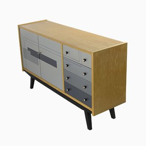 Ash Wood Sideboard, 1963