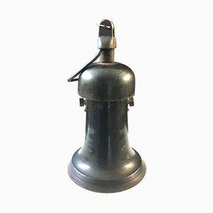 Industrielle Deckenlampe, 1930er