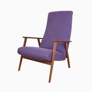 Dänischer Armlehnstuhl mit Gestell aus Teak, 1960er