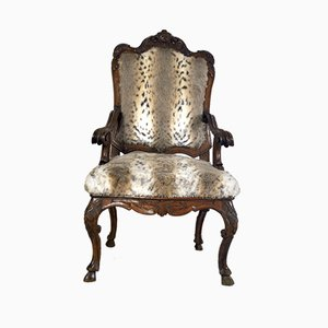 Antique Italian Armchair