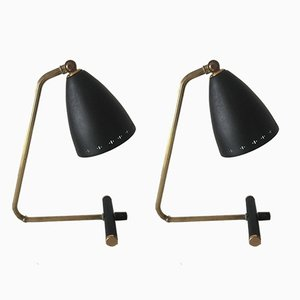 Vintage Swedish Table Lamps from Ewå, 1950s, Set of 2