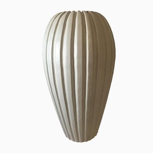 Vaso grande in ceramica di Vicke Lindstrand per Uppsala Ekeby, Svezia, anni '50