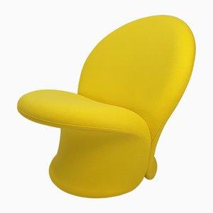 Gelber F572 Stuhl von Pierre Paulin für Artifort, 1967