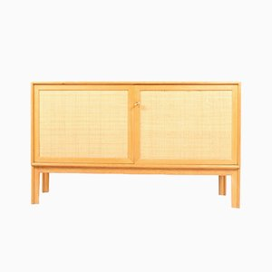 Cane and Oak Dressers by Alf Svensson for Bjästa, 1960s