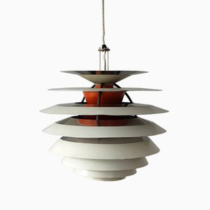 Lampada da soffitto PH Mid-Century di Poul Henningsen per Louis Poulsen
