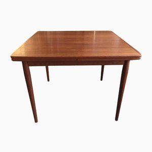 Extendable Teak Dining Table by Arne Vodder for Sibast, 1960s