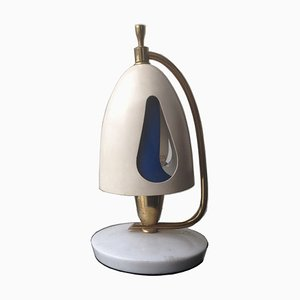 Rotating Table Lamp by Angelo Lelli for Arredoluce, 1959