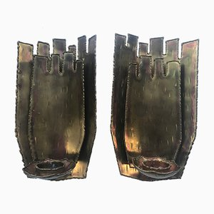 Sconces by Claes Hiertta for Claes Hiertta, 1960s, Set of 2