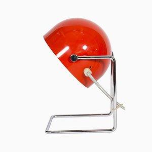 Lámpara de mesa Mid-Century de metal de Josef Hurka para Napako, años 60