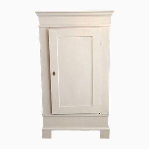 Antique White Oak Biedermeier Cabinet