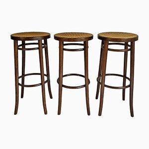 Tabourets de Bar, années 60, Set de 3