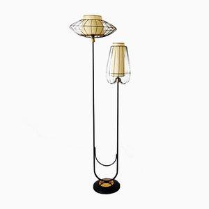 Floor Lamp from Arlus, 1950s