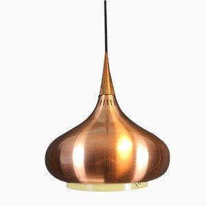 Lámpara de techo Orient de palisandro de Johannes Hammerborg para Fog & Mørup, años 60