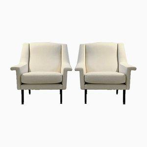 Italienische Sessel von Gio Ponti, 1950er, 2er Set