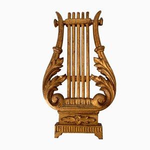 Antique Italian Gilded Wood Sculpture