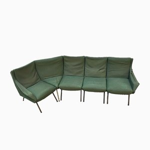 Vintage Italian Modular Sofa Set, 1950s