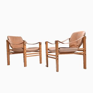 Vintage Safari Chairs from Skipper, 1970s, Set of 2