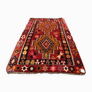 Türkischer Vintage Kelim Teppich, 1960er
