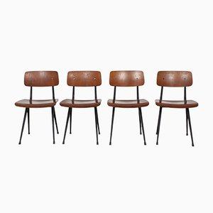 Mid-Century Result Stühle von Friso Kramer für Ahrend De Cirkel, 1960er, 4er Set