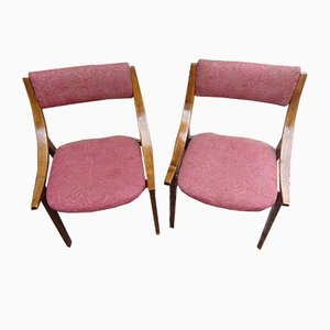 Vintage Chairs from Zamość Furniture Factories, 1972, Set of 4