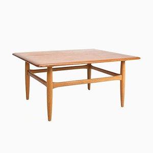 Table Basse Vintage en Teck et Chêne par Kurt Østervig pour Jason Møbler, années 60