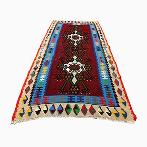 Vintage Turkish Kilim Rug, 1970s