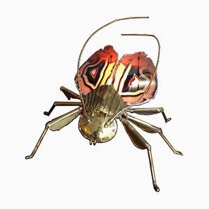 Sculpture d'Insecte par Duval Brasseur, 1970s