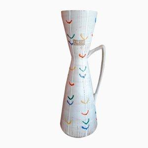 Vase 627-29 Vintage en Céramique Gris Clair de Carstens Tönnieshof, années 50