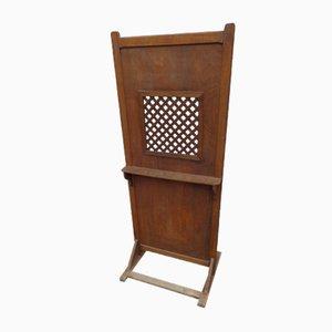 Antique Confessional Screen