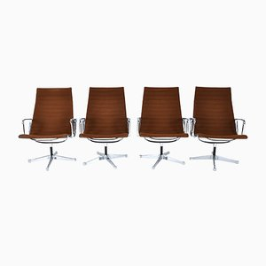 EA 116 Chairs by Charles & Ray Eames for Herman Miller, 1960s, Set of 4