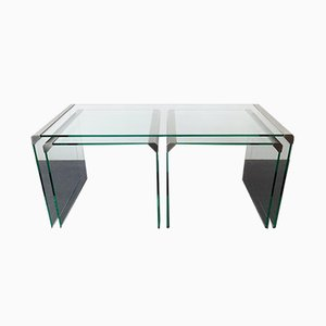 Nesting Tables by Pierangelo Gallotti for Gallotti & Radice, 1970s, Set of 3