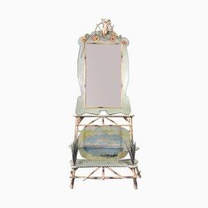 Antiker Konsolentisch mit Spiegel von Guido Cacciapuoti